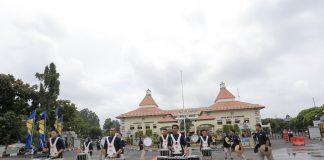 Drumline Battle dipusat pemerintahan kota tangerang