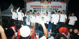 Arief lantik team saber