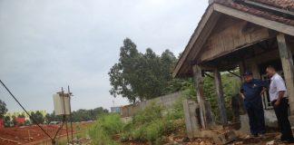 Rumah terjepit proyek tol Kunciran-Bandara