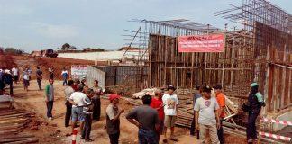 Proyek pembangunan tol kunciran-bandara,/ foto dok: adit.kk