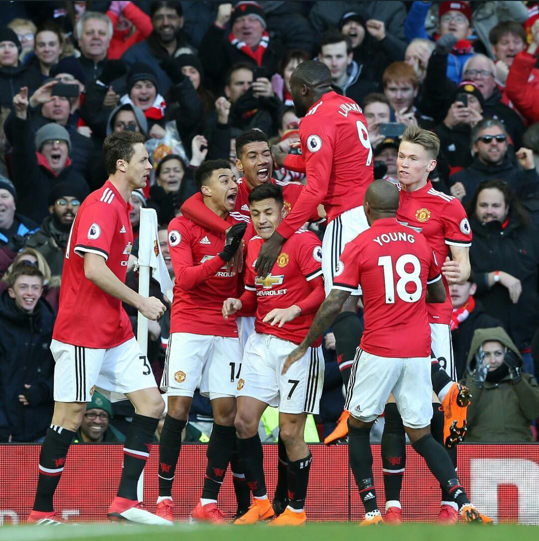 Liga Inggris Manchester United Vs Chelsea Skor Akhir 2 1