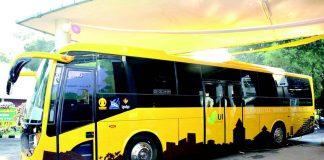 Bus Listrik Soetta