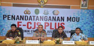 Empat Institusi Tandatangani MoU Aplikasi e-CJS Plus.