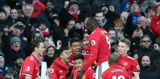 Untuk pertama kalinya striker Manchester United Romelu Lukaku berhasil mencetak gol melawan tim 8 besar Liga Inggris pada Minggu 25 Februari 2018, melawan Chelsea.